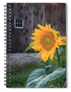 Country Flower Spiral Notebook