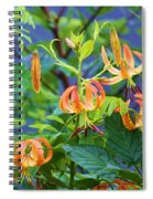 Country Flowers Spiral Notebook