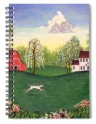 Country Frolic One Spiral Notebook
