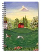 Country Frolic Two Spiral Notebook