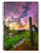 Country Garden Spiral Notebook