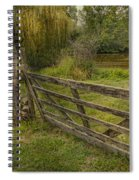 Country - Gate - Rural Simplicity  Spiral Notebook