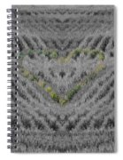 Country Heart Spiral Notebook