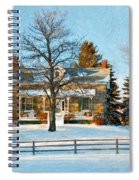 Country Home Impasto Spiral Notebook
