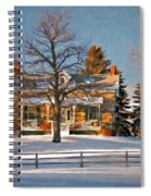 Country Home Oil Spiral Notebook