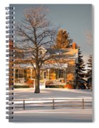 Country Home Spiral Notebook