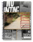 Country Hospitality Spiral Notebook