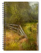 Country - Landscape - Lazy Meadows Spiral Notebook