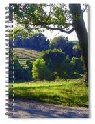 Country Landscape Spiral Notebook