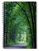 Country Lane Spiral Notebook