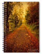 Country Lane V2 Spiral Notebook