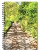 Country Lane Watercolour Spiral Notebook