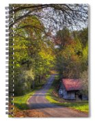 Country Lanes Spiral Notebook