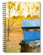 Country Letterbox Spiral Notebook