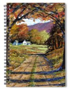Country Livin  Spiral Notebook