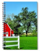 Country Living Spiral Notebook