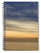 Country Morning Sky Spiral Notebook