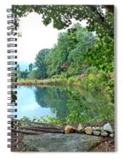 Country Pond Spiral Notebook