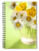 Country Posy Spiral Notebook