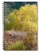 Country Railway Crossing Spiral Notebook