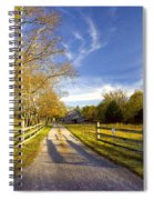 Country Road Spiral Notebook