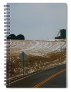 Country Roads In Holmes County Spiral Notebook