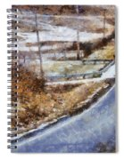 Country Roads In Ohio Spiral Notebook
