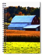 Country Side Spiral Notebook