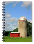 Country Silo Spiral Notebook