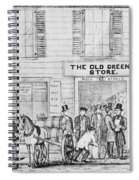 Country Store, 1847 Spiral Notebook