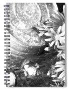 Country Summer - Bw 05 Spiral Notebook