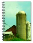 Country Summer Spiral Notebook