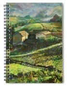Country Sundown Spiral Notebook