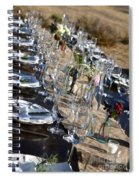 Country Table Setting Spiral Notebook