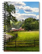 Country - The Pasture  Spiral Notebook