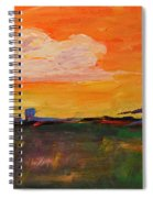 Country Twilight Spiral Notebook
