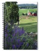Country Valley Spiral Notebook