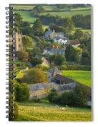 Country Village - England Spiral Notebook