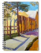 Country Village Spiral Notebook