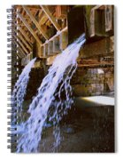 Country Waterfall Spiral Notebook