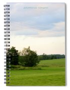 Countryside Charm Spiral Notebook