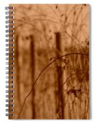 Countryside Fence Spiral Notebook