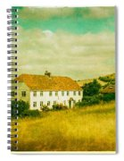 Countryside Homestead Spiral Notebook