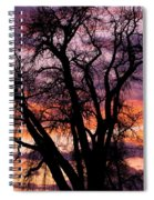 County Sunset Spiral Notebook