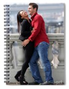 Couple Laughing Spiral Notebook