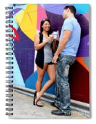 Couple Talking Spiral Notebook