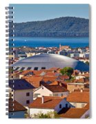 Coupola Sports Hall Landmark In Zadar Spiral Notebook