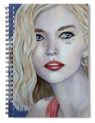 Courage To Cry Spiral Notebook