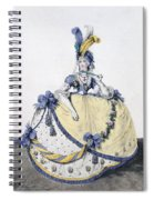 Court Dress, Fig. 106 From The Gallery Spiral Notebook