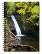 Courthouse Falls In North Carolina Spiral Notebook